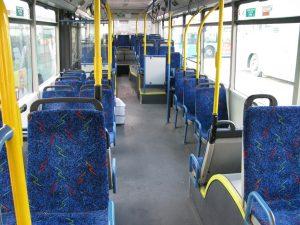 ניקוי ריפודי אוטובוס